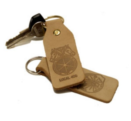 Natural Bottle Keychain