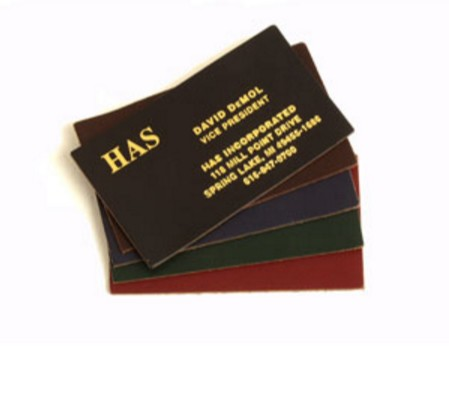 Ultraline Leather Business Card