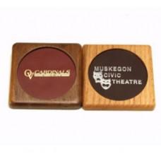 Square Wood Coaster