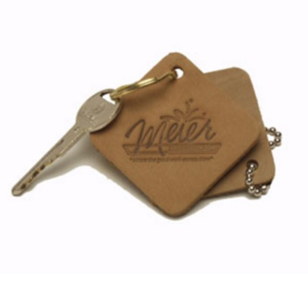 Natural Diamond Keychain