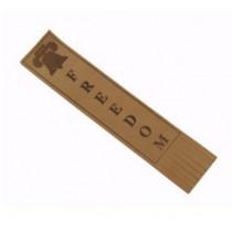 Natural Bradbury Bookmark