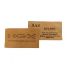 Natural Leather Business Cards